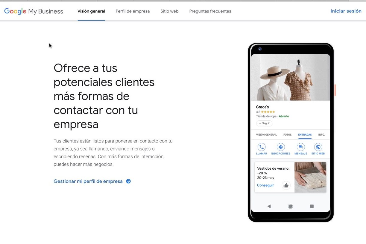Google Business Listing in Alicante